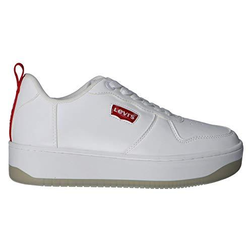 Levis Zapatillas Deporte Vque0011s Queens 0061 White 36 para Mujer y Niña