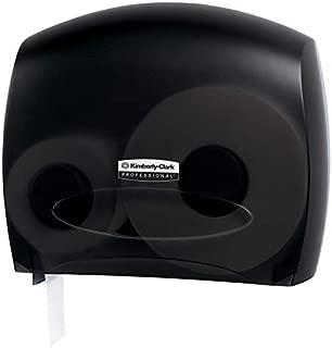 Kimberly-Clark Jumbo Roll Bath Tissue Dispenser, Smoke Gray