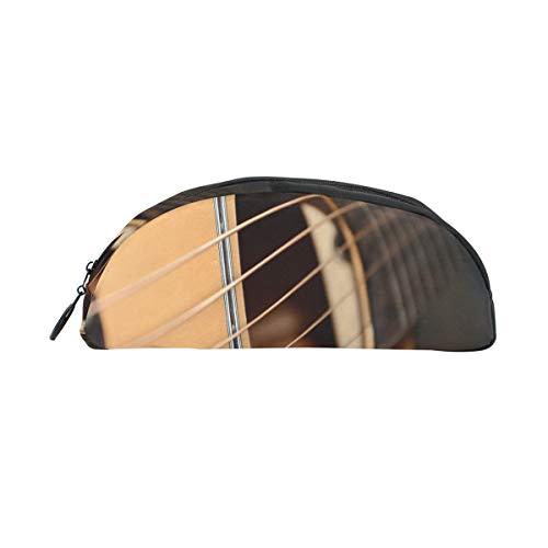 Bolsa lápiz con cremallera Guitarra eléctrica Aficionados a la música Bolso la...