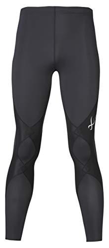 [シーダブリューエックス/ワコール] [シーダブリューエックス] スポーツタイツ エキスパートモデル2.0 (ロング丈) 吸汗速乾 UVカット ストレッチ メンズ HXO409 BL 日本 M (日本サイズM相当)