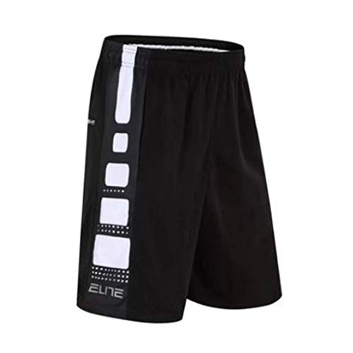 XIXI Basketball Shorts, Basketball Shorts Made of Polyester Fiber, Basketball Training Shorts, Fitness Shorts, Quick-Drying Breathable Shorts M-3XL