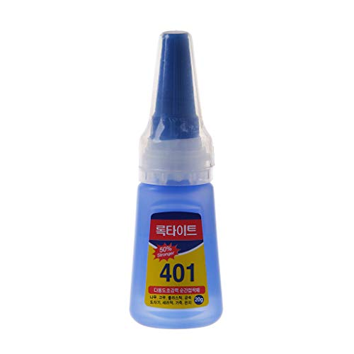 KINTRADE 401 Kleber Spezial für Pfeil und Bogen Schnelltrocknender Schleim Schnelle Verklebung Dehydration Super Instant Schuhe Reparaturkleber