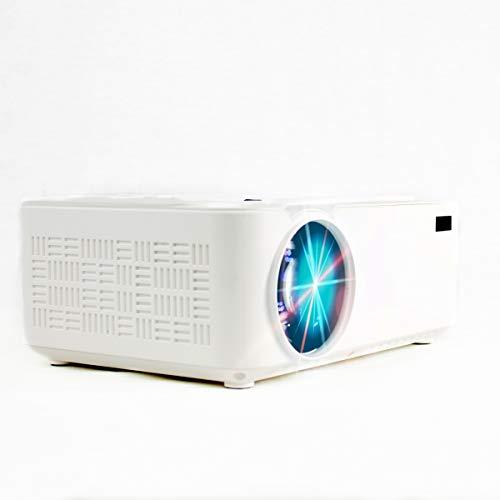 PRIXTON Goya - Proyector portatil / Proyector LED Portable Full HD, 2.800 Lúmenes, Conexión HDMI, USB, MicroSD, Aux in, AV...