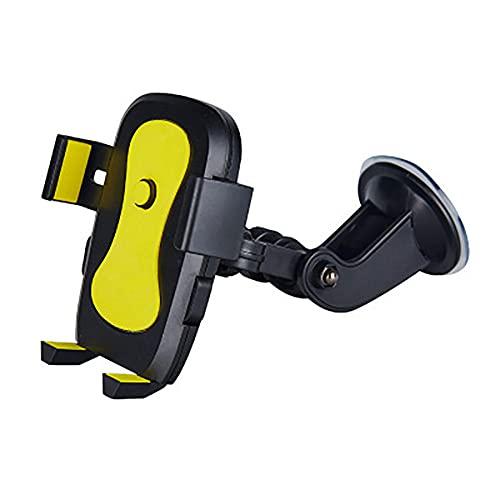 USNASLM Soporte giratorio del teléfono del coche del lechón de la articulación del vehículo del parabrisas del tablero de instrumentos de succión