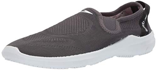 Speedo Men's Water Shoe Surfwalker Pro Mesh,dark gull gray/white,12 Men's US