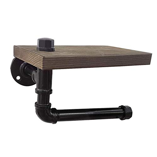 Top 10 best selling list for toilet paper holder with shelf wood