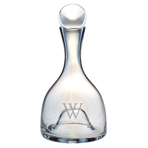 Susquehanna Glass Personalized Lenox Aerating Wine Decanter Clear/B