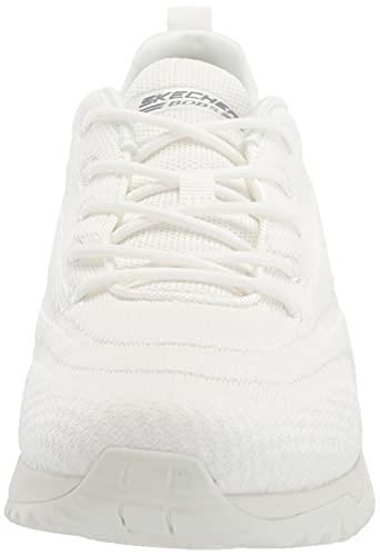 Skechers Bobs Squad 3, Zapatillas Mujer, Blanco (Ofwt), 36 EU