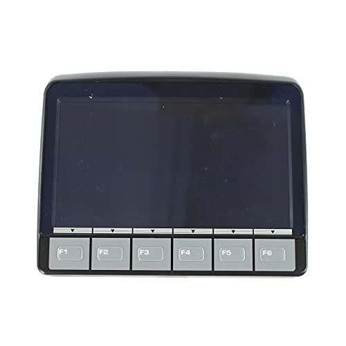 Pannello dello schermo LCD dell'escavatore SINOCMP per monitor Komatsu PC-8 PC200-8 PC210-8, con spina, 3 mesi di garanzia