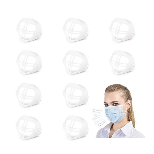 10PCS 3D Silikon Halterung, Lippenstift-Schutz Ständer,Stützrahmen,Lippenschutz Silikon,Lippenstift-Schutzrahmen Aus Silikon