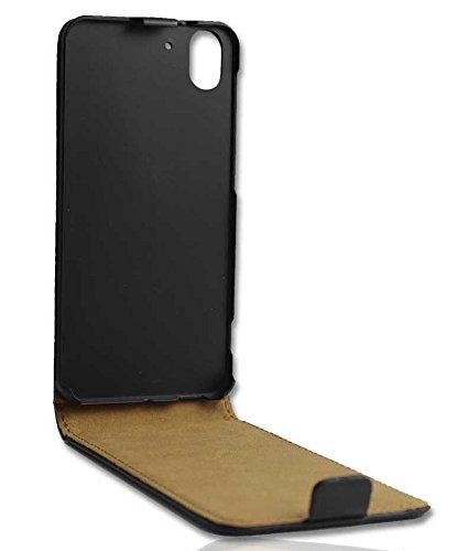 Premium Handy Hülle Tasche Flip für HTC Desire Eye Schutzhülle Hülle black