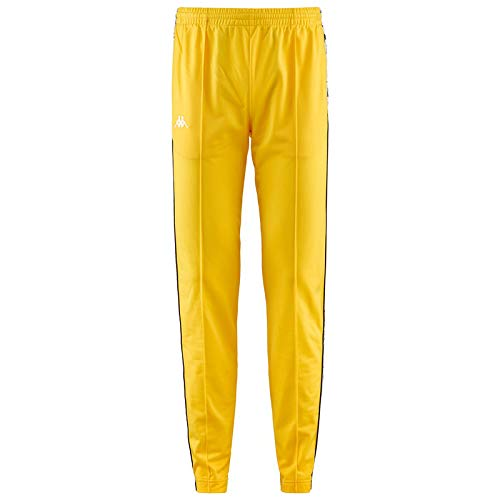 Kappa 222 Banda Astoria Slim Authentic Pantalones Hombre Amarillo