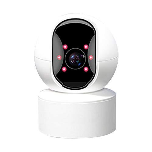 Cámara De Vigilancia Cámara De 5mp Sistema De Seguridad Wifi Interior Full Hd, Detección De Movimiento, Visión Nocturna, Audio Bidireccional Y Nube, Con Aplicaciones Para Ios Y Android (blanco)