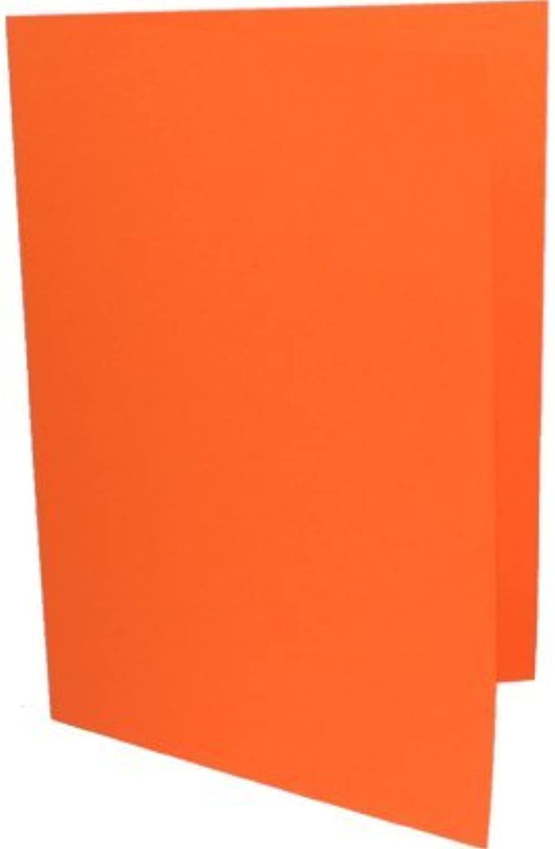 90 Einladungskarten DIN Lang ( DL ) Orange B003KVWHB6 | Ideales Geschenk für alle Gelegenheiten  | Nutzen Sie Materialien voll aus