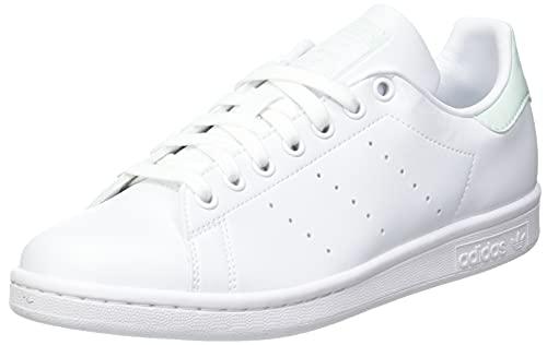 adidas Stan Smith, Sneaker Mujer, Footwear White/Dash Green/Core Black, 41 1/3 EU