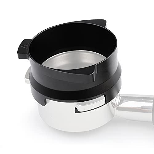 54mm Espresso Dosing Funnel for Breville Barista Portafilters Hands-Free (Black)