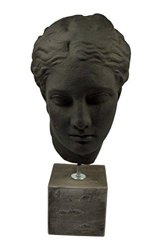 Escultura reproducción busto diosa griega salud Higía