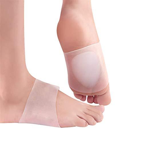 Gel Arch Support Sleeves, Arch Support Gel Pads für Plantar Fasciitis, Plattfüße, hohe oder gefallene Bögen, Fuß und Fersenschmerzlinderung reduzieren
