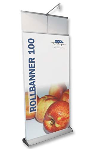 Rollbanner beidseitig 100cm x 220cm Neu Banner Werbedisplay Aufsteller Werbebanner Display Spuckschutz