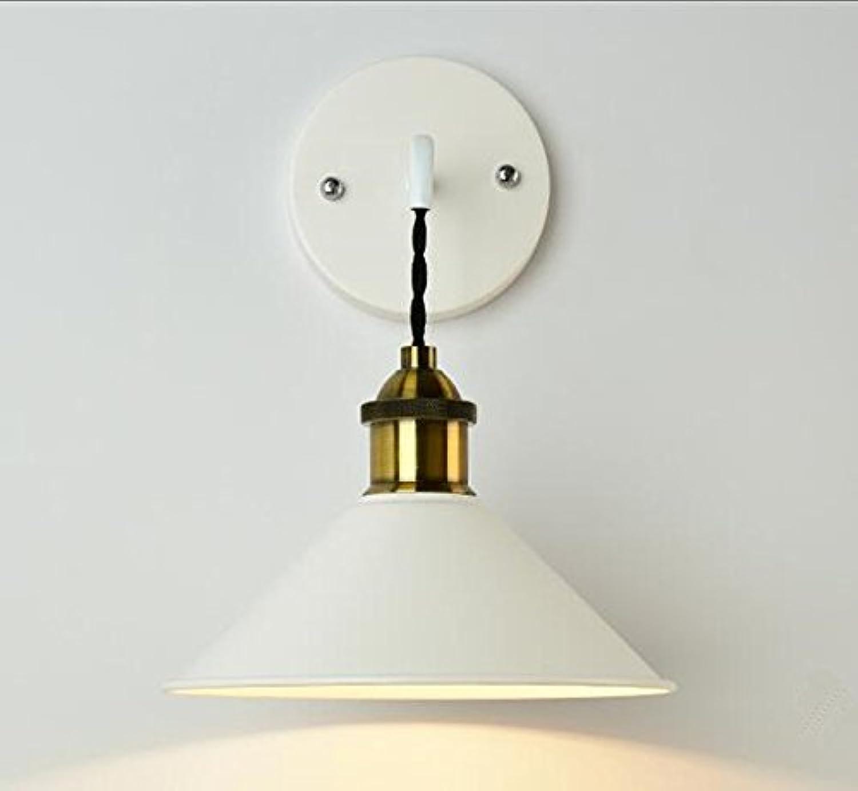 AGECC 110-230V Wandleuchte für den Innenbereich FarBlauchten, Schlafzimmerwandleuchten Korridor Gang Treppenhaus Wandleuchte einfache Wohnzimmerlampe, B