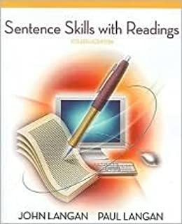 Best sentence skills with readings 4th edition Reviews