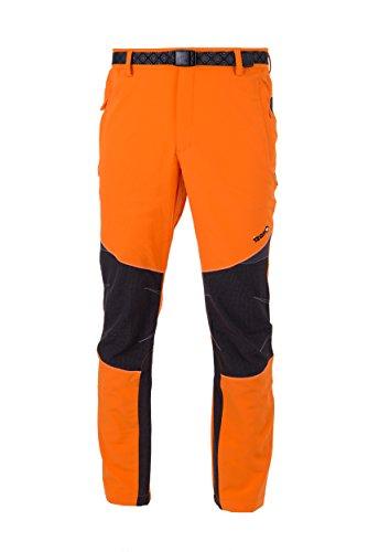 IZAS Sportwear de Aragón Coruna Pantalon de Montagne pour Homme XL Orange/Noir
