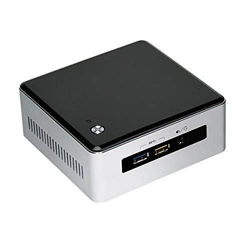 Intel Barebone BOXNUC5i3RYH NUC, Processore Core i3 5010U, Nero/Antracite