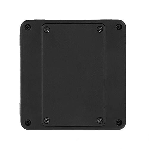Caja de nivel de transportador digital Caja biselada Precisión 0.1° Portátil Conveniente con 1 destornillador para medición (Plata)