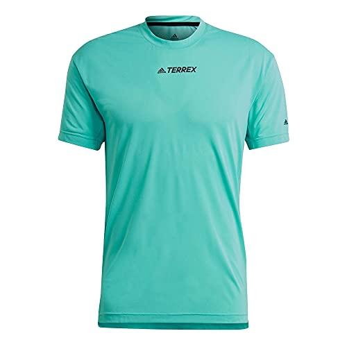 adidas Agr Alla Tee Kurzarm-T-Shirt für Herren, Herren, Kurzärmeliges T-Shirt, GK5169, Menaci, XL