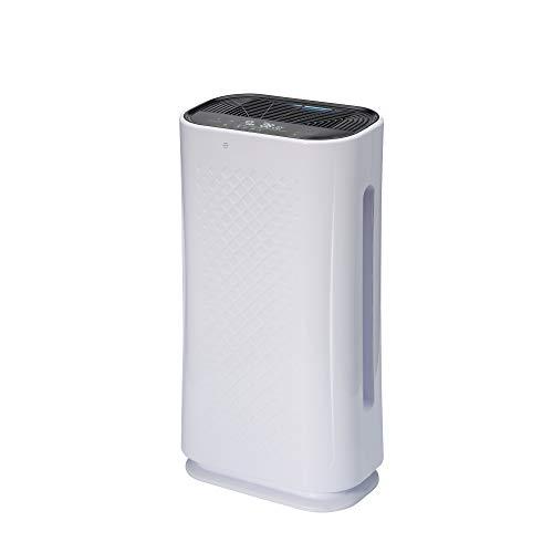 Salutech Luftreiniger, mit HEPA Filter H13 und CADR 200m³/h, für große Räume bis 50m², mit UV-C + Ionisator, filtert Hausstaub, Bakterien und Viren, Luftfilter für die Büro, Schule & Wohnung