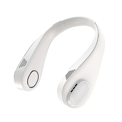 Benxin Ventilador de cuello diseño portátil USB carga pequeño ventilador conveniente para al aire libre