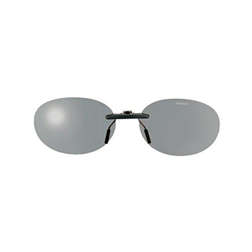 SWANS(スワンズ) サングラス メガネにつける クリップオン 固定タイプ SCP-13 LSMK2 偏光ライトスモーク2