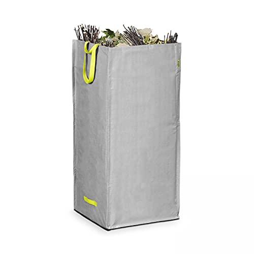 Lesto Bolsa branchage 200litros residuos de jardín, Gris