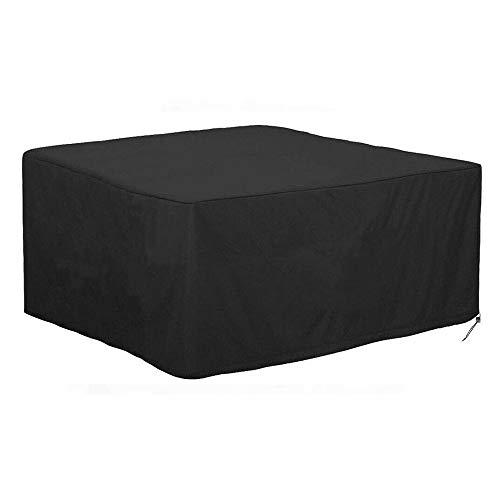 styleinside 1 × Fundas para Muebles de jardín al Aire Libre Fundas cuadradas de poliéster para mesas Fundas Impermeables a Prueba de Viento a Prueba de Polvo para Muebles de Patio