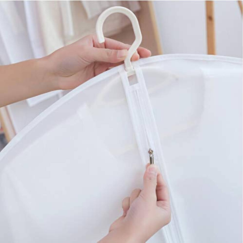 HexiLake Kleidung Staubbeutel Durchscheinend Durchscheinend Durchscheinend Waschbarer Anzug Staubschutz 3 60X130Cm B07Q5T47WN a307c9