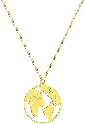 Collar Collar De Acero Inoxidable Con Joyas En Fase Lunar Colgante De Galaxia Mujer En Esmalte Lunar Con Collar De Oro Fugace Di Stars Regalo