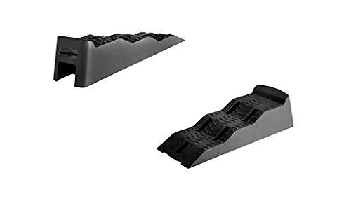 BRUNNER Camping Auffahrkeile Leveller Ausgleichskeile Stufenkeile Equalizer XL, Schwarz