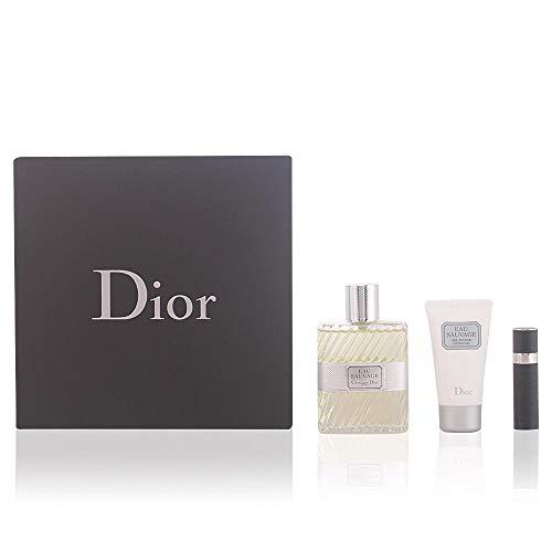 Dior Eau Sauvage Eau De Toilette Spray 100ml Set 3 Artikel