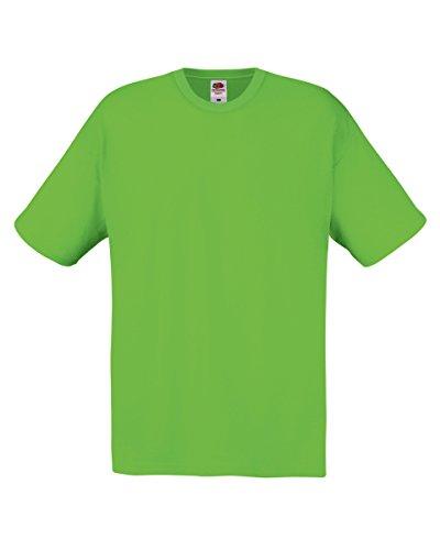 Fruit Of The Loom Original Full Cut, T-Shirt Gr. L, lime