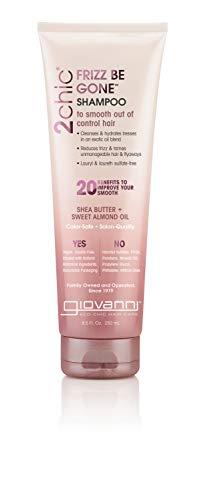 GIOVANNI - 2chic Frizz Be Gone Shampoo Shea Butter & Sweet Almond Oil - 8.5 fl. oz. (250 ml)
