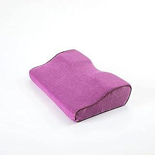 Oreiller en latex endormi bambou mousse mousse orthopédique oreillers oreillers cervicaux Oreillers (Couleur : Purple, Siz...