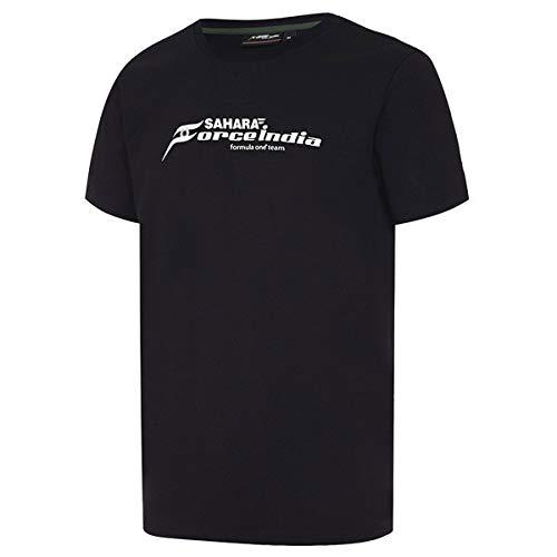Sahara Force India FW Herren Formel 1 Logo T Durable T-Shirt - M