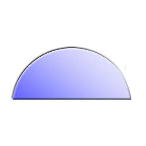 Glasbodenplatte für Kaminöfen Halbkreis 1000x500 6mm