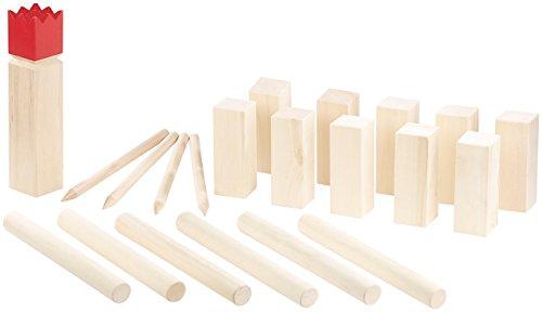 Playtastic Wikingerspiel: Wikinger-Spiel aus Holz, ideal für Wiese, Strand & Co. (Outdoor Spiele)