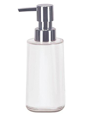 Kleine Wolke Seifenspender Mable / 65 x 171 mm/Farbe Schneeweiss, Plastik, 6.5x6.5x17.1 cm