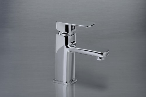 Waschtischarmatur - Waschbecken-Standmischbatterie - mit automatischer Ablaufgarnitur - Hochdruckarmatur - Badarmatur -...
