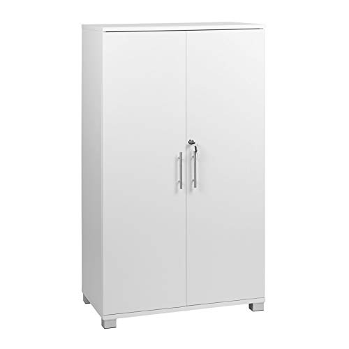 MMT Furniture Designs Ltd MMT-IV04White Büroschrank, hergestellt Holzlaminat, weiß, 1200mm Tall