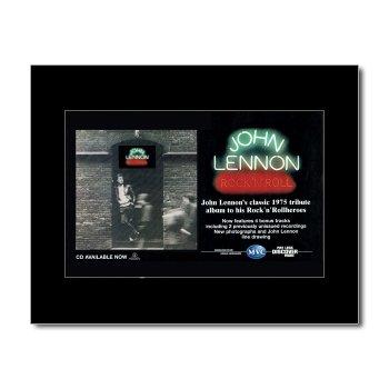 JOHN LENNON - Rock n Roll Matted Mini Poster - 21x13.5cm
