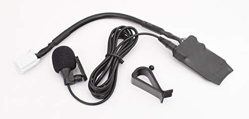 BlueMusic Bluetooth Audio Freisprech Adapter 6+6 Anschluss kompatibel mit Toyota Auris Avensis T25 T27 Corolla Hilux Prius RAV4 Yaris XP9 Land Cruiser J12/20 - Lexus is 250 300 is-F GS RX LS 350 430