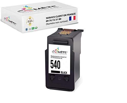 COMETE PG-540 - Cartucho de tinta compatible con Canon 540 para impresoras PIXMA G2150 MG2250 MG3150 MG3250 MG3550 MG4150 MG4250 MX375 MX395 MX435 MX455 MX515 MX525 - Negro
